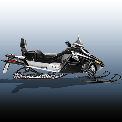 ARCTIC CAT<sup>®</sup> Lynx 2000 ES - This is what every snowfall demands, your tracks, your time on an Arctic Cat<sup>®</sup> snowmobile. The Lynx 2000 ES features the ACT Diamond Direct drive system, Arctic 6 post drive clutch, 2-stroke engine, electric start , dual halogen 4-buld headlights, Challenger tracks that are 15