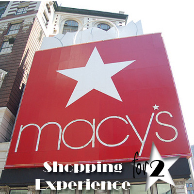 MACY'S<sup>&reg;</sup> Shopping Experience - With the Macy's Shopping Experience, guests have the opportunity to travel to some of the country's most notorious shopping cities to be treated like a star.  Add in First Class accommodations for two in your chosen destination city and a $250 gift card to use during your Macy's shopping spree and you'll be acting like a diva in no time!  Airfare not included.