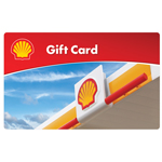 SHELL GAS<sup>®</sup> $25 Gift Card