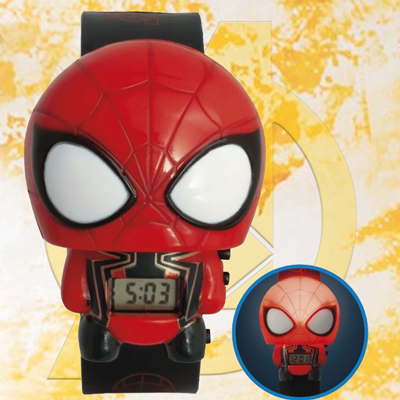 72f8491e35d3 BULBBOTZ™ Marvel Avengers Infinity War Iron Spider - This digital watch  features both time and